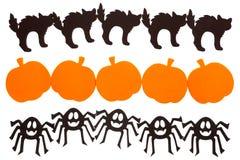 Halloween-Dekorationen stockfotografie
