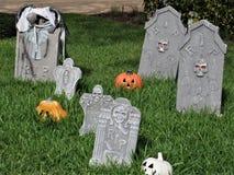 Halloween-Dekorationen, Florida stockfotografie