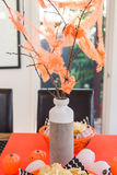 Halloween dekoruje pomysły dla indoors Obrazy Royalty Free