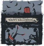 Halloween deltagare Royaltyfri Fotografi