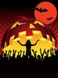 halloween deltagare vektor illustrationer