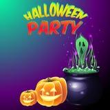 Halloween deltagare Royaltyfria Foton