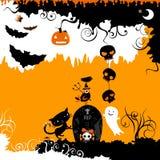 Halloween-Design Stockbild