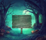 Halloween-Design Stockbild