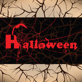 Halloween design background Stock Photo