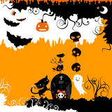 Halloween design Stock Image