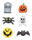 Halloween Design Element stock image