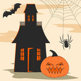 Halloween design elements Stock Photo