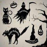 Halloween Design Elements Stock Image