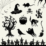 Halloween Design Elements Stock Photos