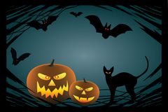 Halloween design elements. vector Stock Image
