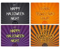 Halloween design lettering Royalty Free Stock Photo