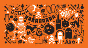 Halloween design Royalty Free Stock Photography