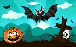 Halloween design  - vector illustration Stock Photo