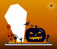 Halloween design Stock Images