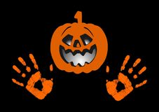 The Halloween  designs Royalty Free Stock Photos