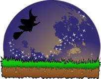 The Halloween  designs Royalty Free Stock Image