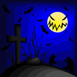 Halloween desktop backgrounds Royalty Free Stock Image