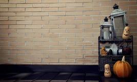 Halloween-Desktopachtergrond royalty-vrije stock afbeeldingen