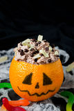 Halloween dessert for children's party Royalty Free Stock Photos