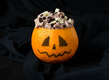 Halloween dessert for children's party Stock Images
