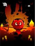 Halloween devil vector Royalty Free Stock Photos