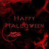 Halloween digital card Royalty Free Stock Image