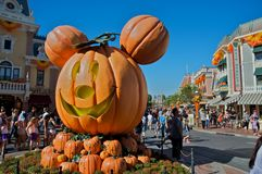 HAlloween at Disneyland Stock Photography