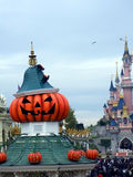 Halloween in Disneyland Parijs Royalty-vrije Stock Foto