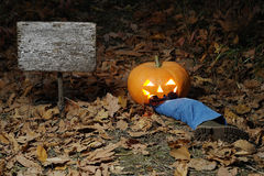 Halloween divertente Fotografia Stock