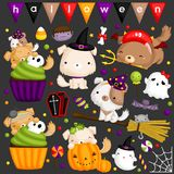 Halloween Dog Stock Images