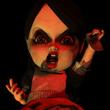Halloween Doll 15. You were warned Stock Image