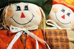 Halloween dolls Royalty Free Stock Photo