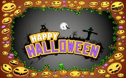 Halloween Doodle Stock Photo