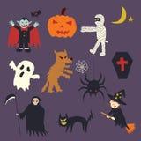 Halloween doodle Stock Photography