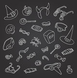 Halloween doodle Royalty Free Stock Photography