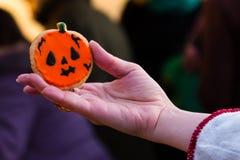 Halloween drôle dans Uzhgorod Photos stock