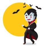 Halloween Dracula Stock Foto's