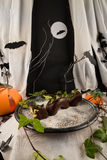 Halloween dragon dessert Royalty Free Stock Photos