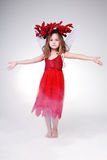Halloween dress. royalty free stock images