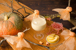 Halloween drink for kids Stock Photography
