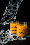 Halloween drink pumpkin juice Stock Photo