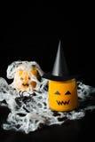 Halloween drink pumpkin juice Royalty Free Stock Photography