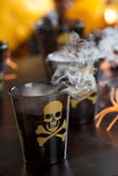 Halloween drinks - Deadly Shot Stock Photos