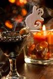 Halloween drinks - Scary Martini Stock Photos
