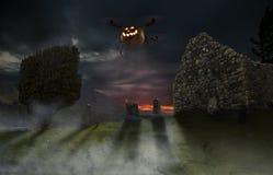 Free Halloween Drone Stock Image - 61058041