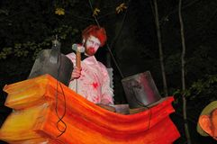 Halloween a Dublino, sosta di Marlay Immagini Stock