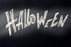 Halloween-Dunkelheitshintergrund Stockfoto