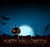 Halloween-Dunkelheitshintergrund Lizenzfreies Stockfoto