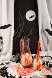 Halloween-Durchschlag Lizenzfreie Stockbilder